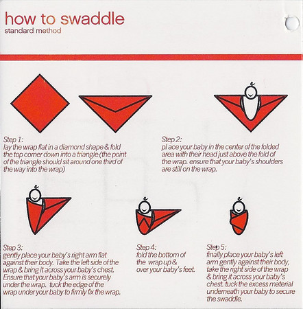 Muslin swaddle label side 2