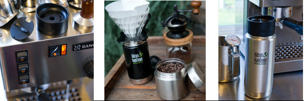 Klean Kanteen Cafe bottles insulated coffee cup