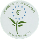 Volvox Clay Decor has been awarded the EU Eco Label