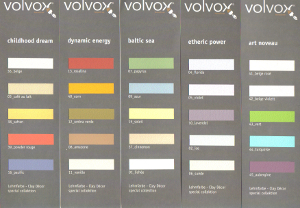 Volvox colour schemes
